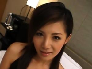 Sexual eastern maiden Rena Nagai enjoys hardcore fuck