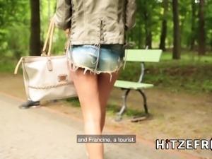 HITZEFREI Stunning German Anissa Kate fucks a tourist