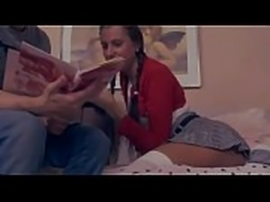 Anastasya wants to study a little harder! - FREE Full FAMILY videos at Lust...