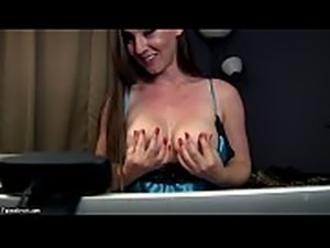 Kinky Kristi is Naughty Sister That Masturbated on Webcam for Her Brother -...