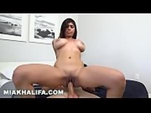 MIA KHALIFA - Riding Sean Lawless, Big Tits Forward, Loving Life XOXO