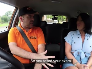 Fake Driving School Candi Kayne returns
