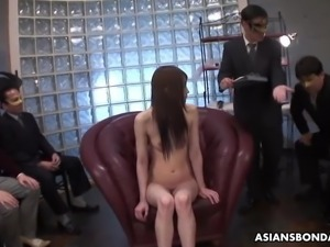 Skinny fuck doll, Rina Serizawa is pleasing many kinky men