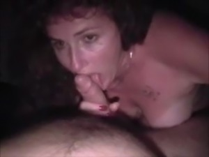 Wife sucking and swallowing