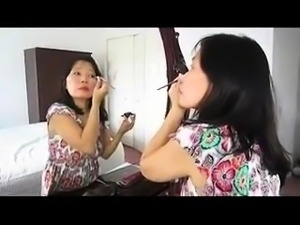Amateur Asian granny braces herself for a hardcore fucking