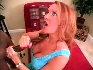 Mature redhead gives handjob