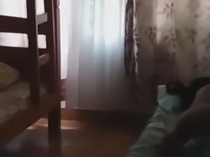 Couple sleep after fuck