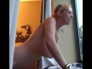 Divorced Mature MILF with Big Tits In Hotel with Stranger