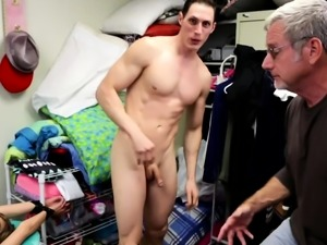 This older guy has a kinky offer for his horny nephew. He's