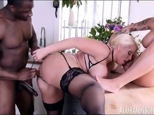 Alura Jenson Interracial Stepmom Threesome