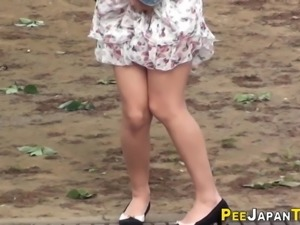Asians in need of a piss followed
