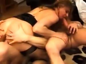 European chick enjoys double penetration full movie