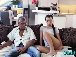 Prodigious brunette bombshell gets fucked deep
