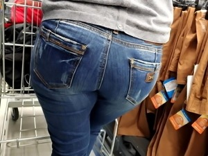 Big ass mom in tight jeans for us