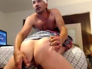 Kinky redhead babe gets her pussy toyed, fingered and fucked